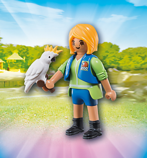 PLAYMOBIL® 6830 - Tiertrainerin mit Kakadu