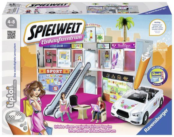Ravensburger tiptoi® - Spielwelt Einkaufszentrum (ohne Stift)