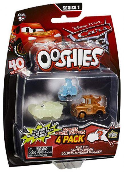 Ooshies - Cars 3 Sammelfiguren,4er Pack