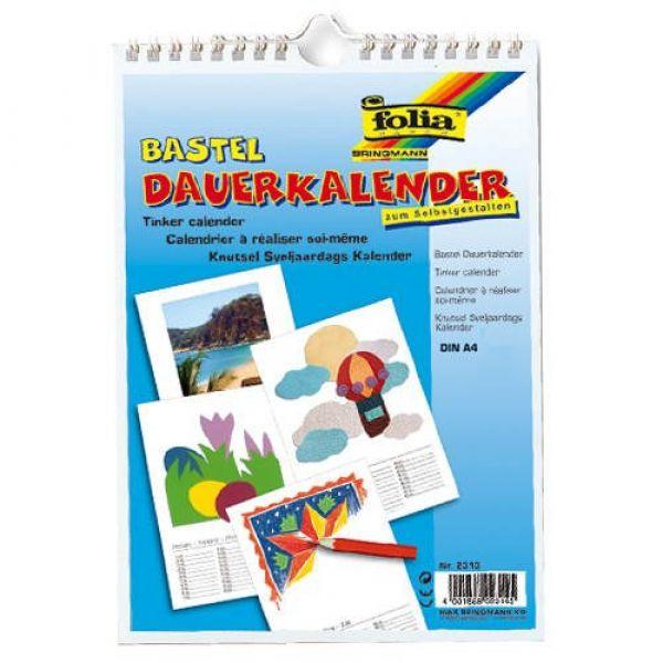 Idena - Bastel Dauerkalender A4