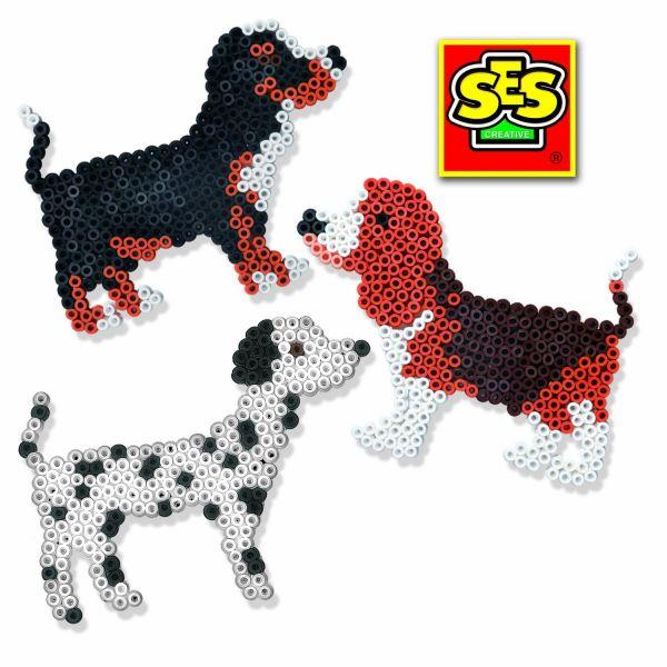 SES 56600 - Bügelperlenset Hund