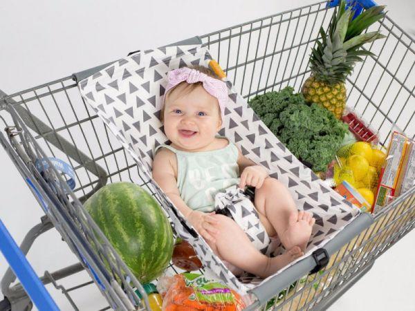 Baby hängematte einkaufswagen : Binxy baby einkaufswagen hängematte triangles sicherheit