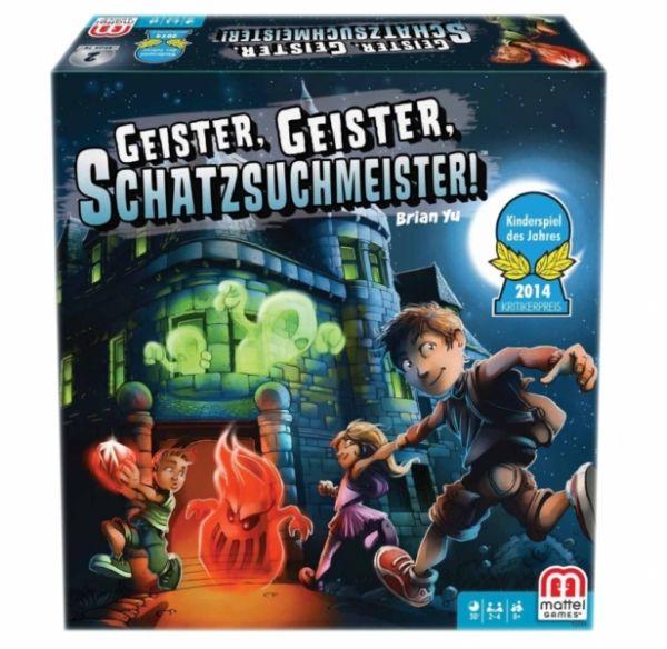 Mattel Y2554 - Geister Geister Schatzsuchmeister