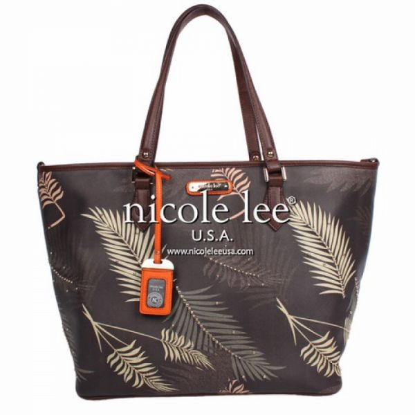 "Nicole Lee - Handtasche ""Palm Tree"" Shopper Bag"