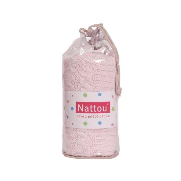 Nattou - Strickdecke (In diversen Farben)
