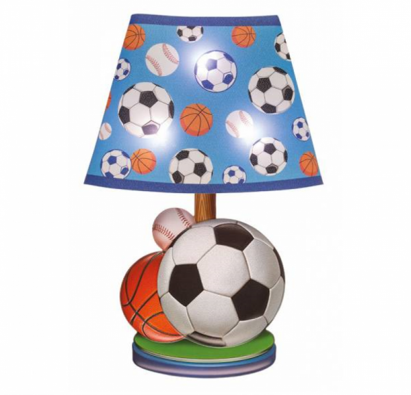LED Wandsticker Lampe Fussball