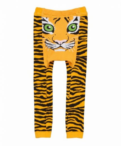 Doodle Pants - Tiger orange Leggings