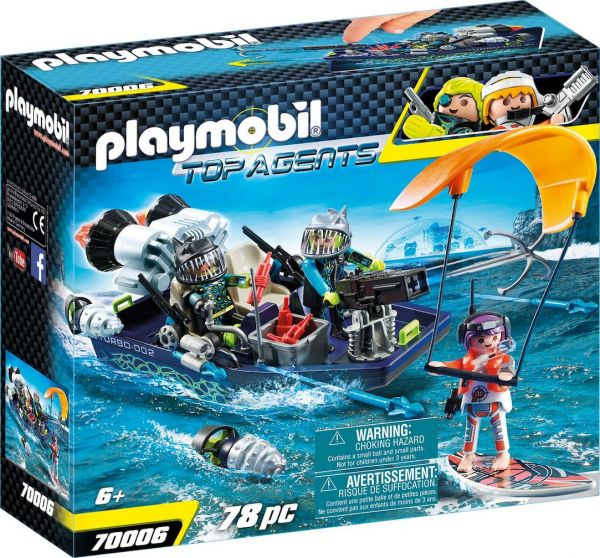PLAYMOBIL® 70006 - TEAM S.H.A.R.K. Harpoon Craft