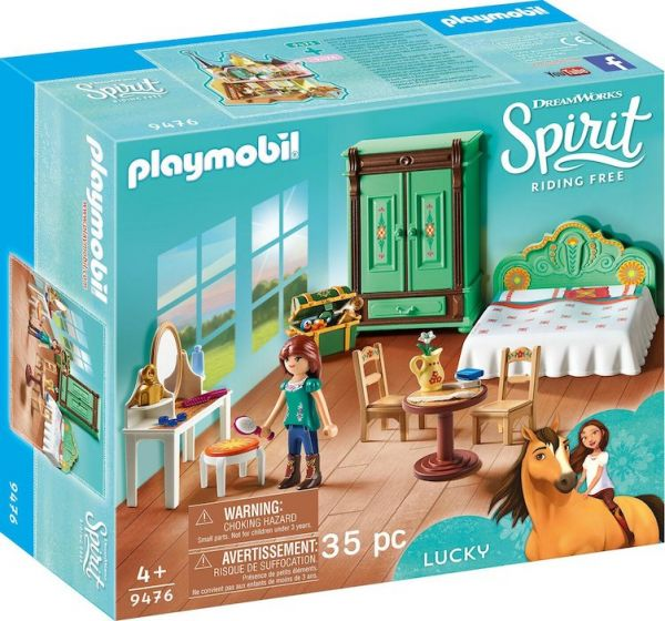 PLAYMOBIL® 9476 - Luckys Schlafzimmer