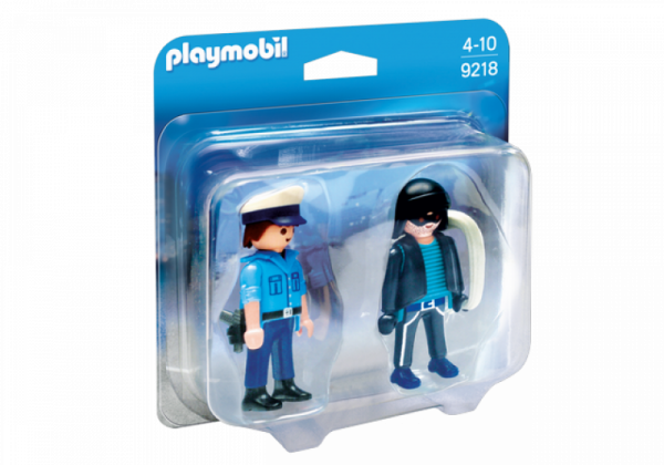 PLAYMOBIL® 9218 - Duo Pack Polizist und Langfinger