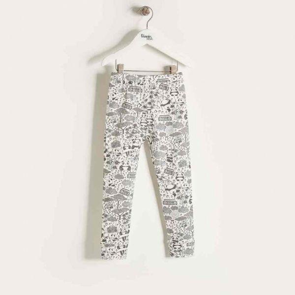 Bonniemob - Leggings Panda Print rosa