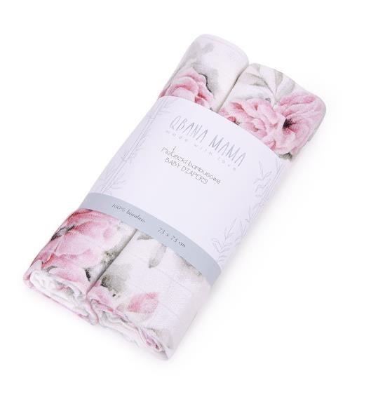 Qbana Mama - Bambus Muslin Blossom - Blossom 2er Set