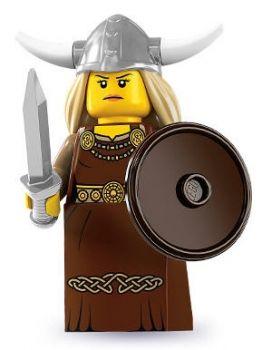 LEGO® Minifiguren Serie 7 - Nr. 13 Wikingerin