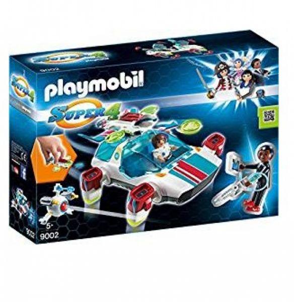 PLAYMOBIL® 9002 - FulguriX mit Agent Gene