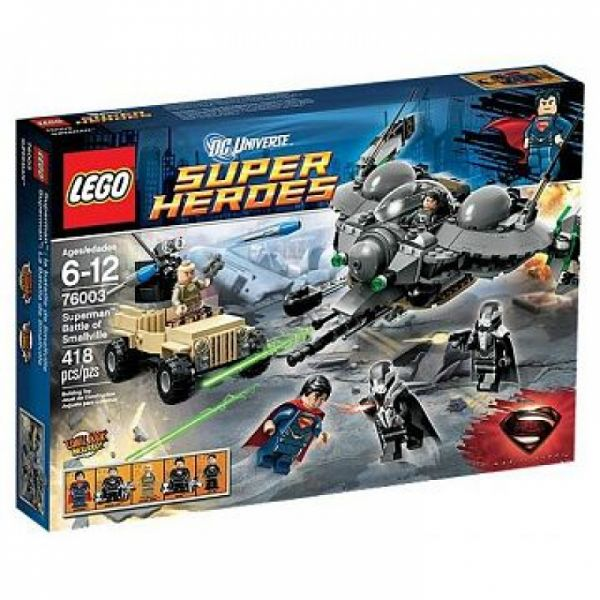 LEGO® Super Heroes 76003 - Superman™: Aufruhr in Smallville