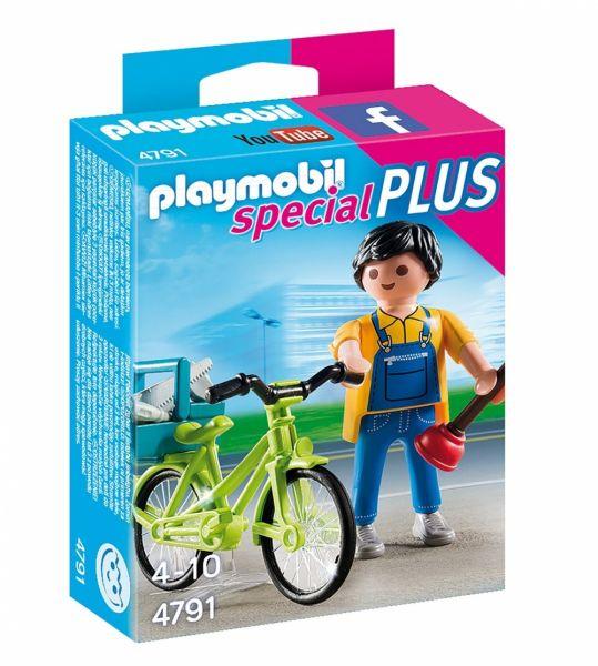 PLAYMOBIL® 4791 - Handwerker mit Fahrrad