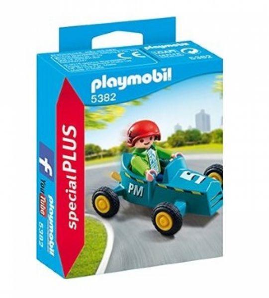 PLAYMOBIL® 5382 - Junge mit Kart