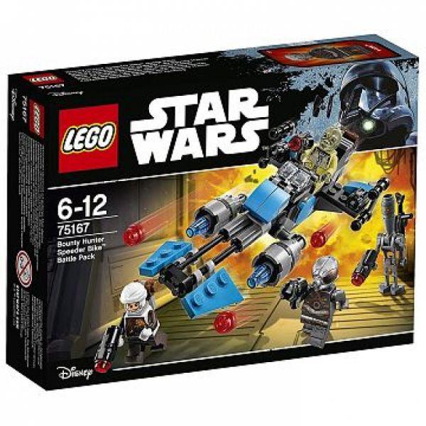 LEGO® Star Wars 75167 - Bounty Hunter Speeder Bike Battle Pack