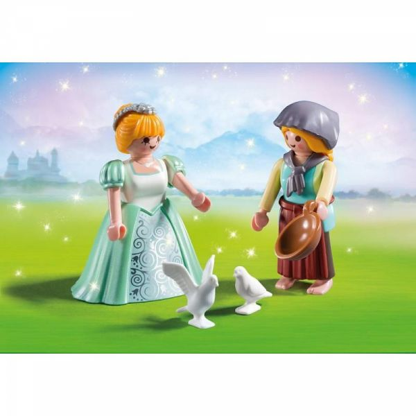 PLAYMOBIL® 6843 - Duo Pack Prinzessin und Magd