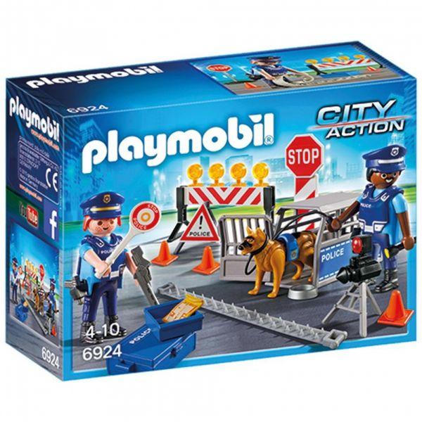 PLAYMOBIL® 6924 - Int. Polizei-Straßensperre