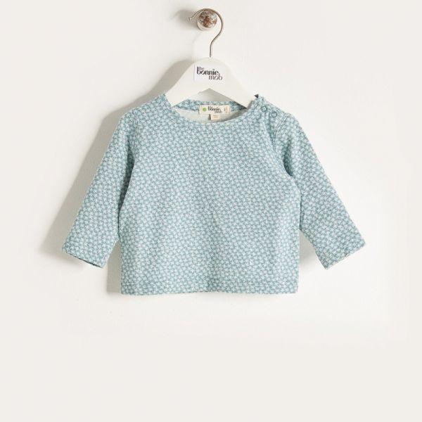 Bonniemob - Shirt Hash Tag blau
