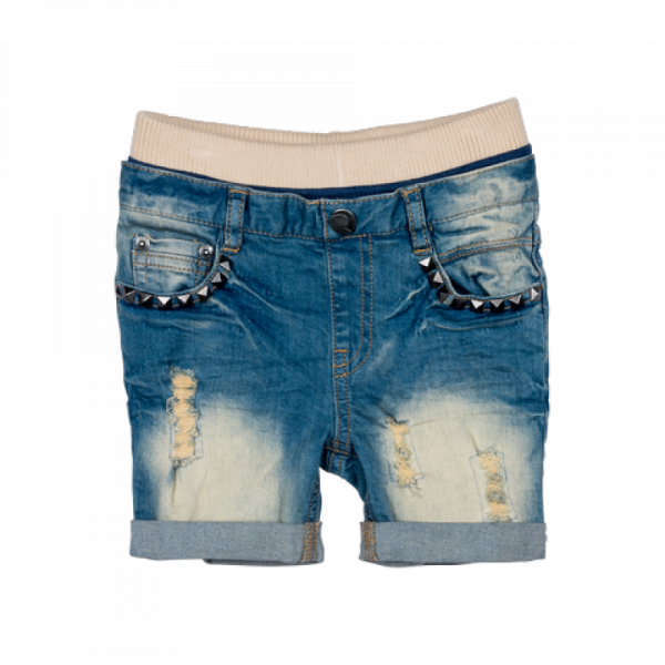 Rock your Baby - Jeans Shorts Heavy Metal