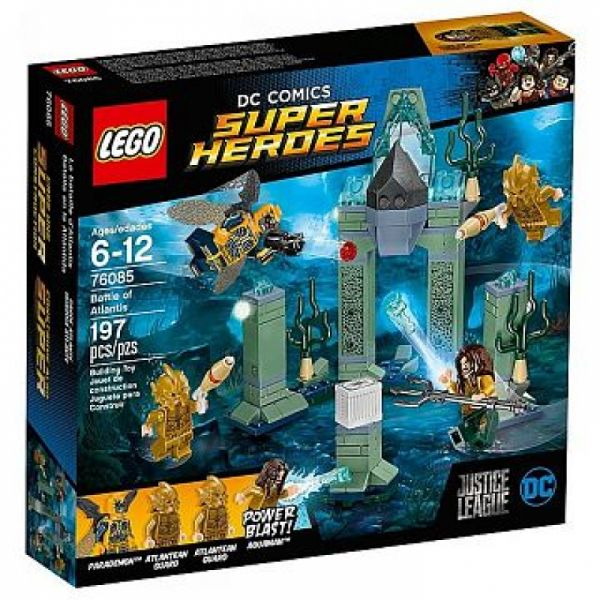 LEGO® Super Heroes 76085 - Das Kräftemessen um Atlantis