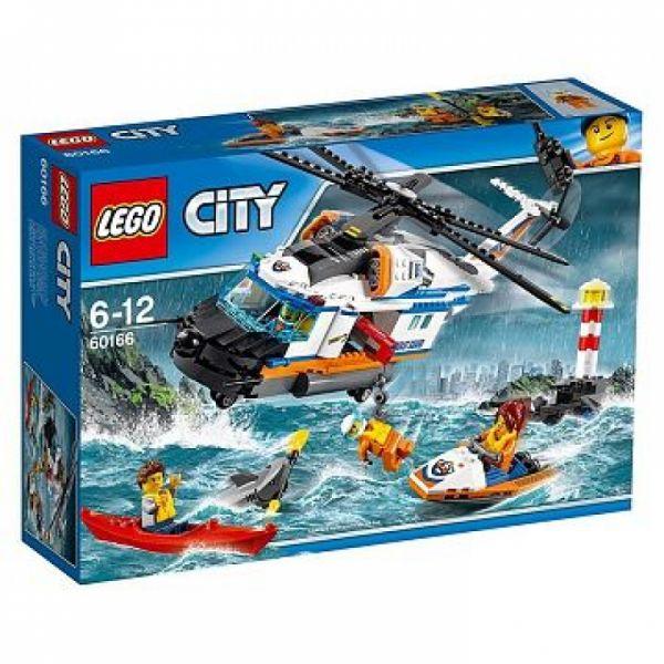 LEGO® City 60166 - Seenot-Rettungshubschrauber