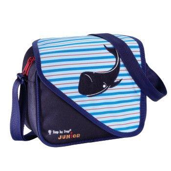 "Step by Step - JUNIOR Kindergartentasche ""Alpbag Boys"", Blue Whale"