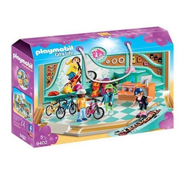 PLAYMOBIL® 9402 - Bike und Skate Shop