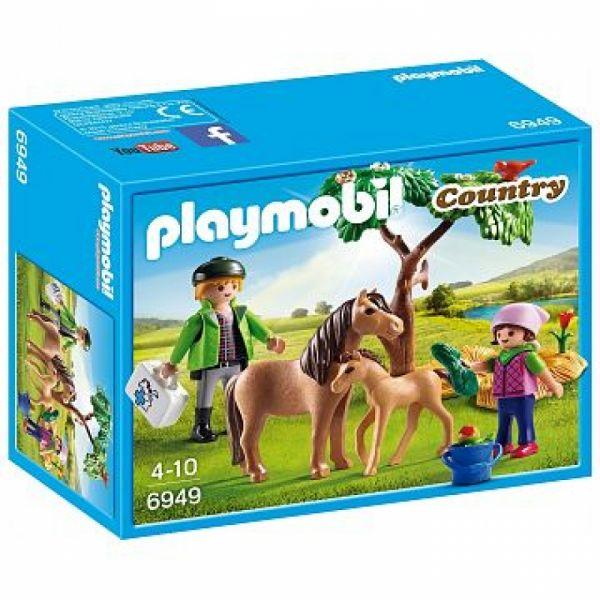 PLAYMOBIL® 6949 - Ponymama mit Fohlen