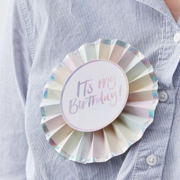 "Ginger Ray - ""Its my Birthday"" Badge"