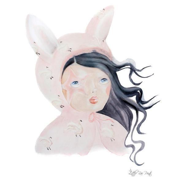 Little Rae Prints - Poster Luna