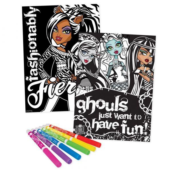 Monster High - Samt-Poster Set