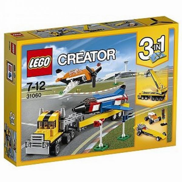 LEGO® Creator 31060 - Flugschau-Attraktionen