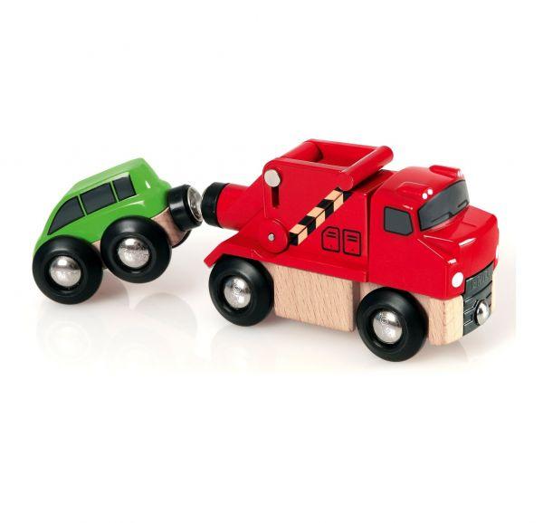 BRIO® 33528 - Abschleppwagen mit Auto
