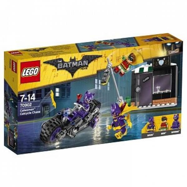 LEGO® The Batman Movie 70902 - Catwoman: Catcycle-Verfolgungsjagd