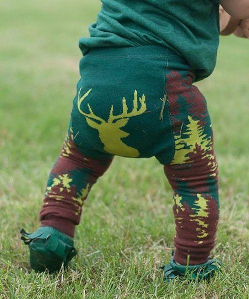 Doodle Pants - Camo Deer Leggings