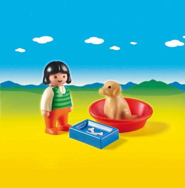 PLAYMOBIL® 6796 - Mädchen mit Hund