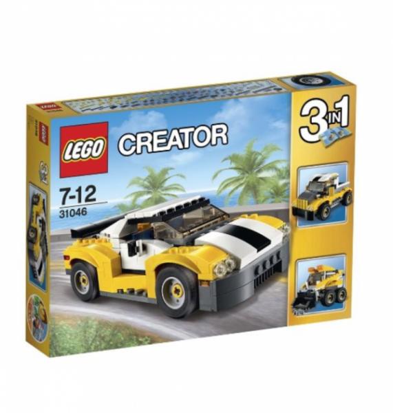 LEGO® Creator 31046 - Schneller Sportflitzer