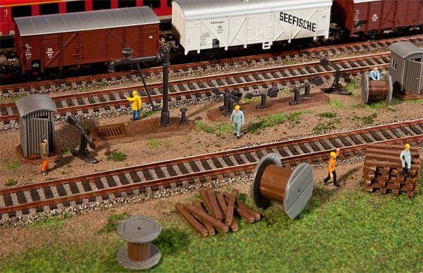 FALLER 120141 - Ausschmückungsteile für den Bahnbereich, Spur H0
