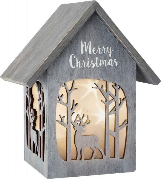 "Small Foot - Lichthaus ""Merry Christmas"", Shabby Chic"
