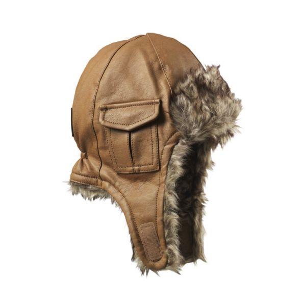 Elodie - Mütze Chestnut Leder