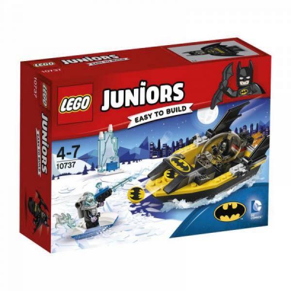 LEGO® Juniors 10737 - Batman gegen Mr. Freeze