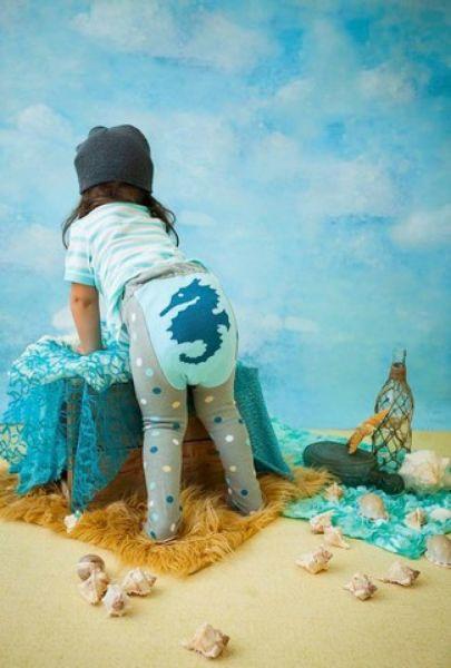 Doodle Pants - Seahorse Leggings