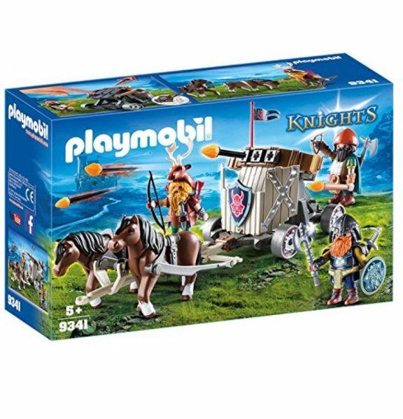 PLAYMOBIL® 9341 - Ponygespann mit Zwergenballiste