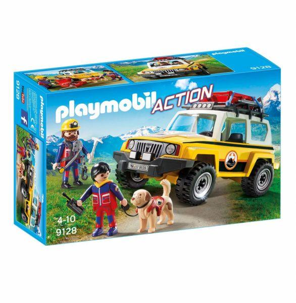 PLAYMOBIL® 9128 - Bergretter-Einsatzfahrzeug
