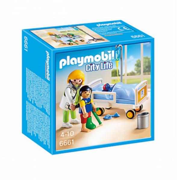 PLAYMOBIL® 6661 - Ärztin am Kinderkrankenbett