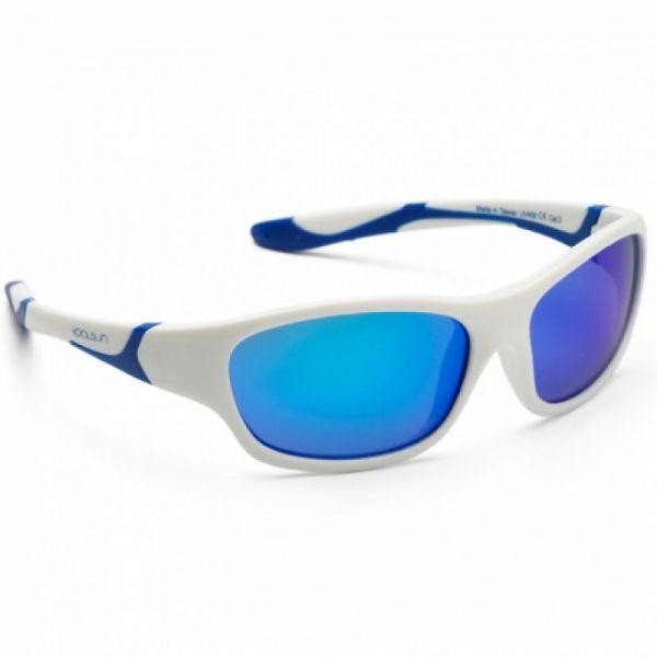 Koolsun - Kindersonnenbrille Sport White Blue
