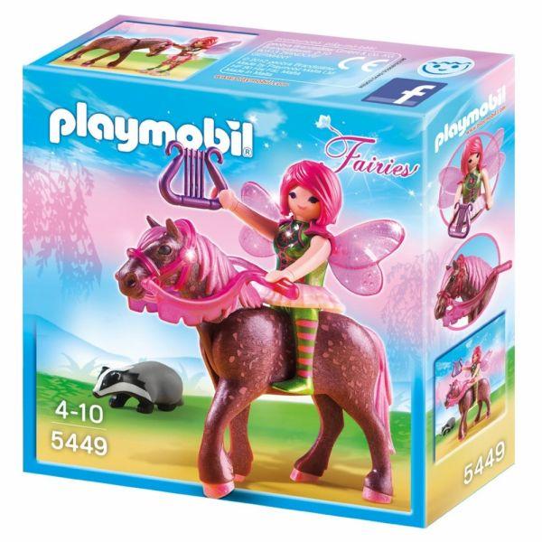PLAYMOBIL® 5449 - Waldfee Surya mit Abendrotpferd